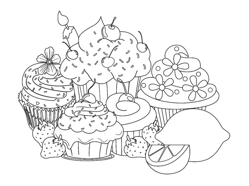 Shopkins Coloring Pages Cupcake Queen - Printable Coloring ...