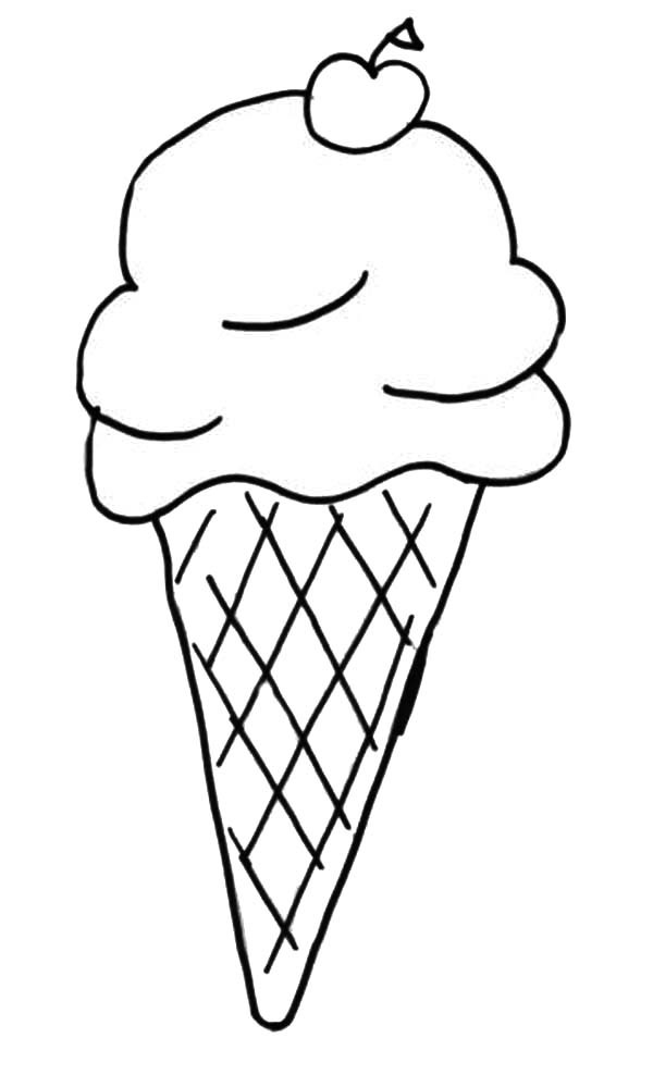 Shopkins Ice Cream Coloring Pages