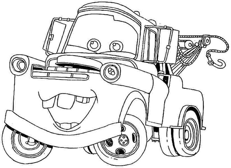Small Car Coloring Pages
