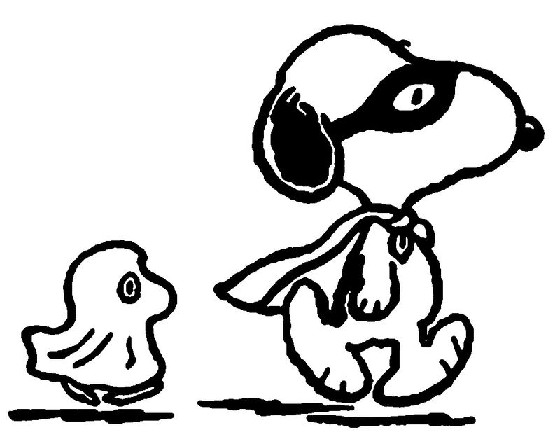 Snoopy Characters Coloring Pages