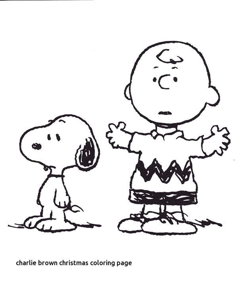 Snoopy Christmas Coloring Page