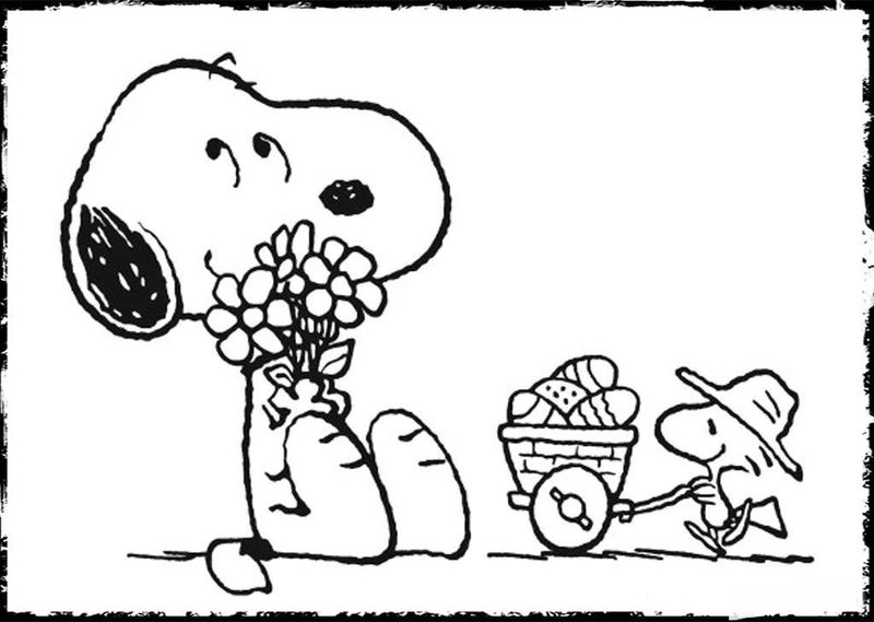 Snoopy Coloring Book Pages