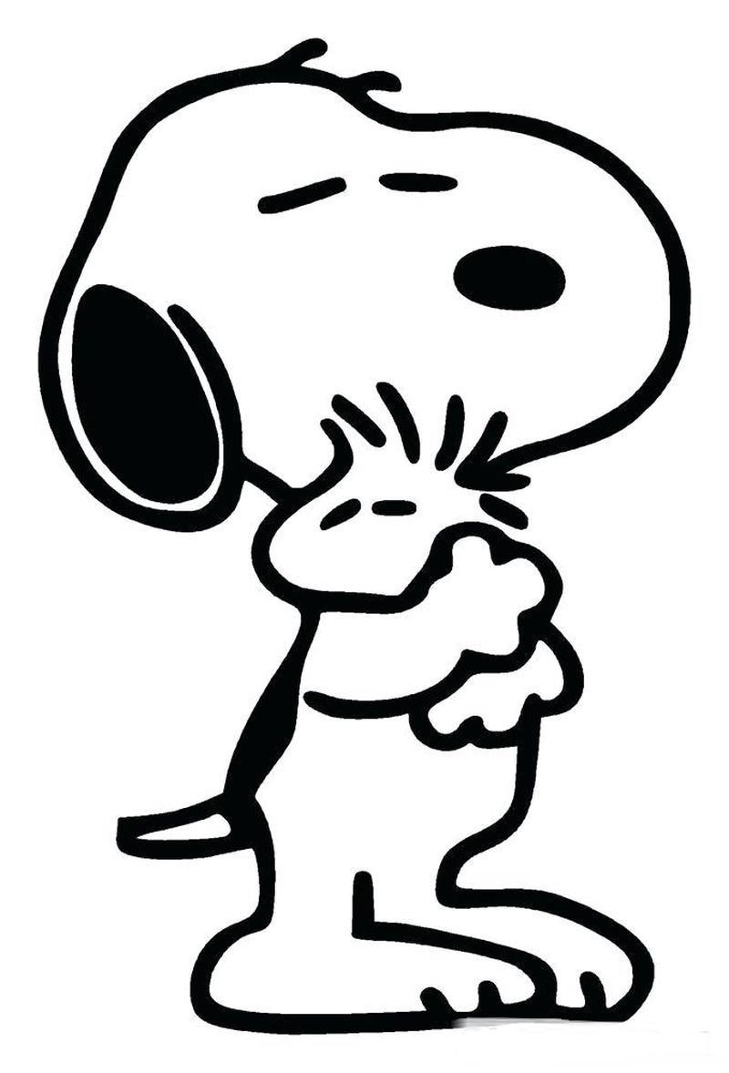 Snoopy Coloring Pages Pdf