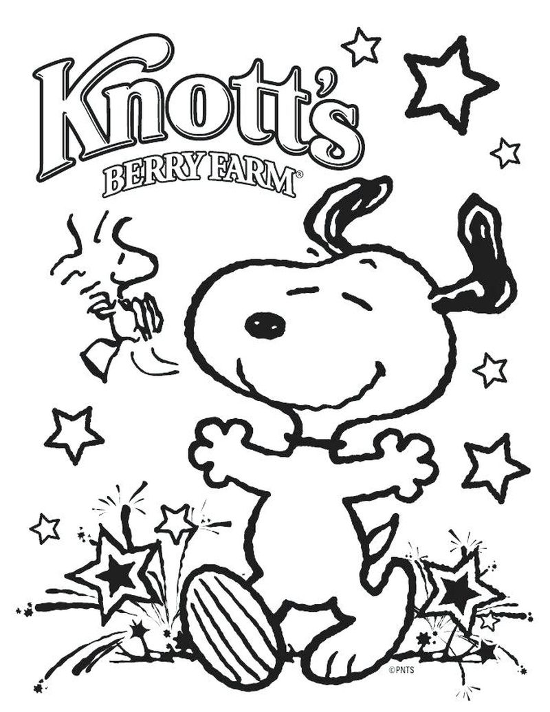 Snoopy Coloring Pages Valentine