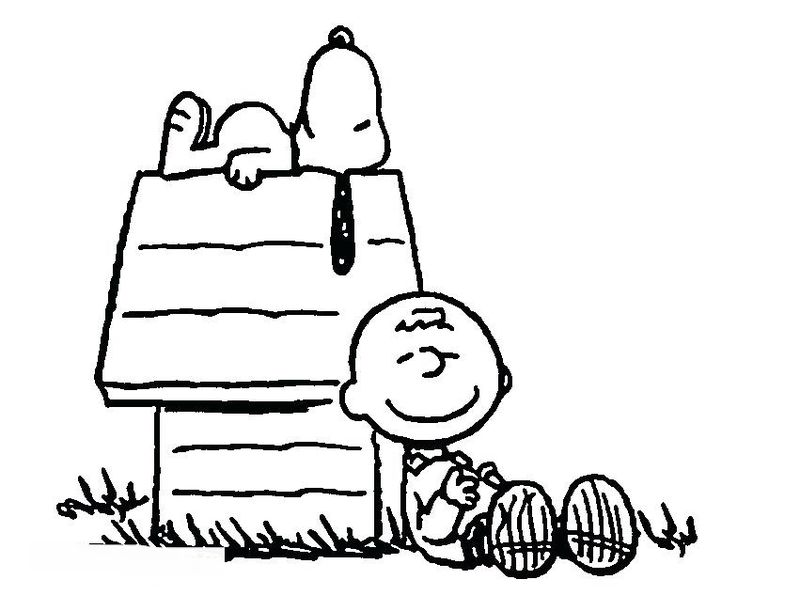 Snoopy Colouring Book