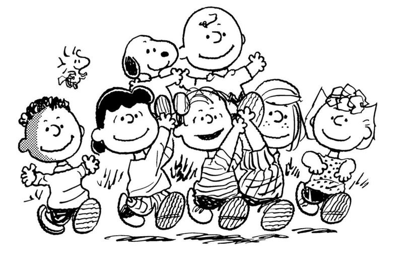 Snoopy Come Home Coloring Pages