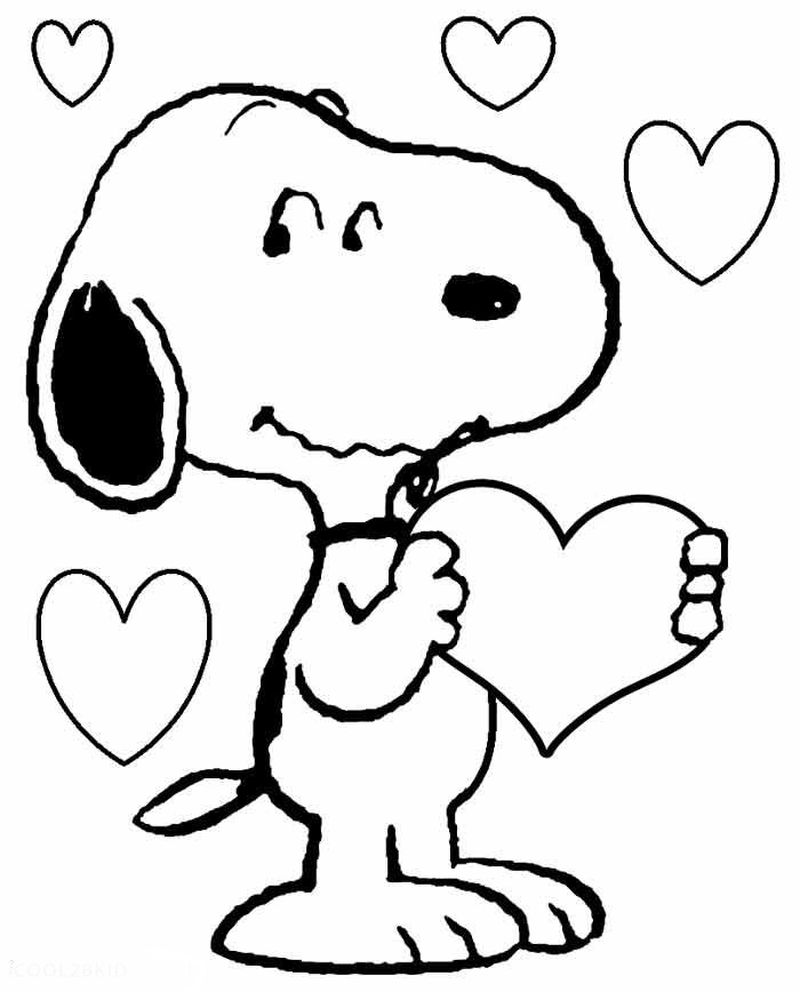 Snoopy Flying Ace Coloring Pages