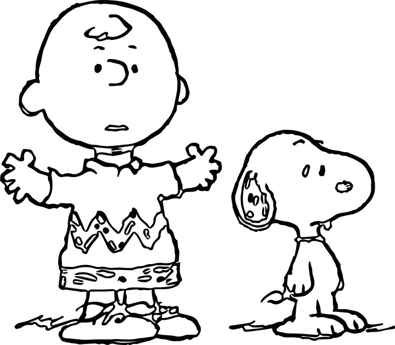 Snoopy Happy Birthday Coloring Pages