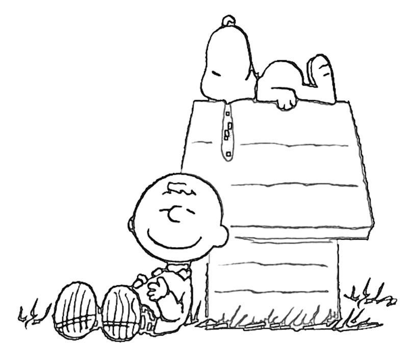 Snoopy Valentines Day Coloring Pages