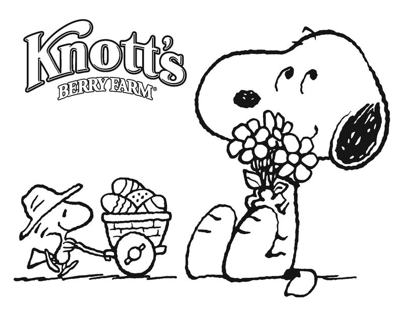 Snoppy Coloring Pages