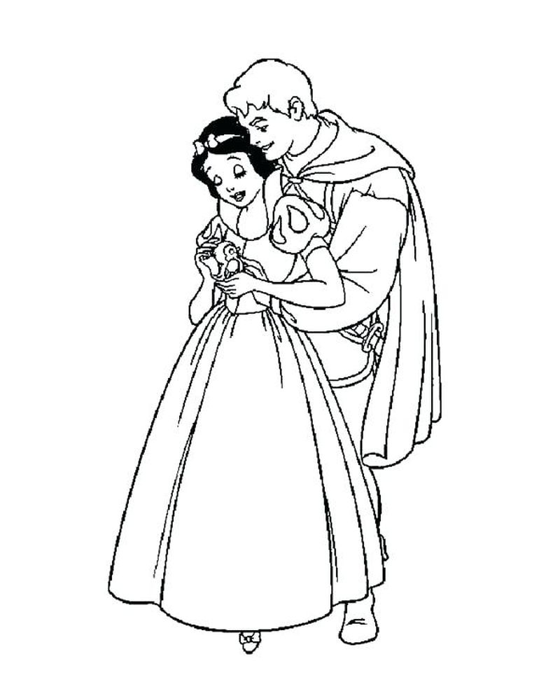 Snow White Coloring Book Pdf