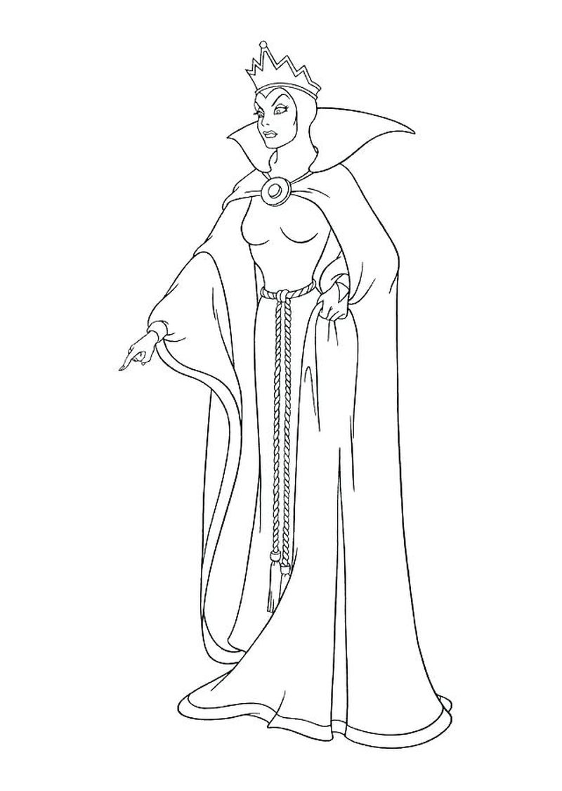 Snow White Coloring Pages Games