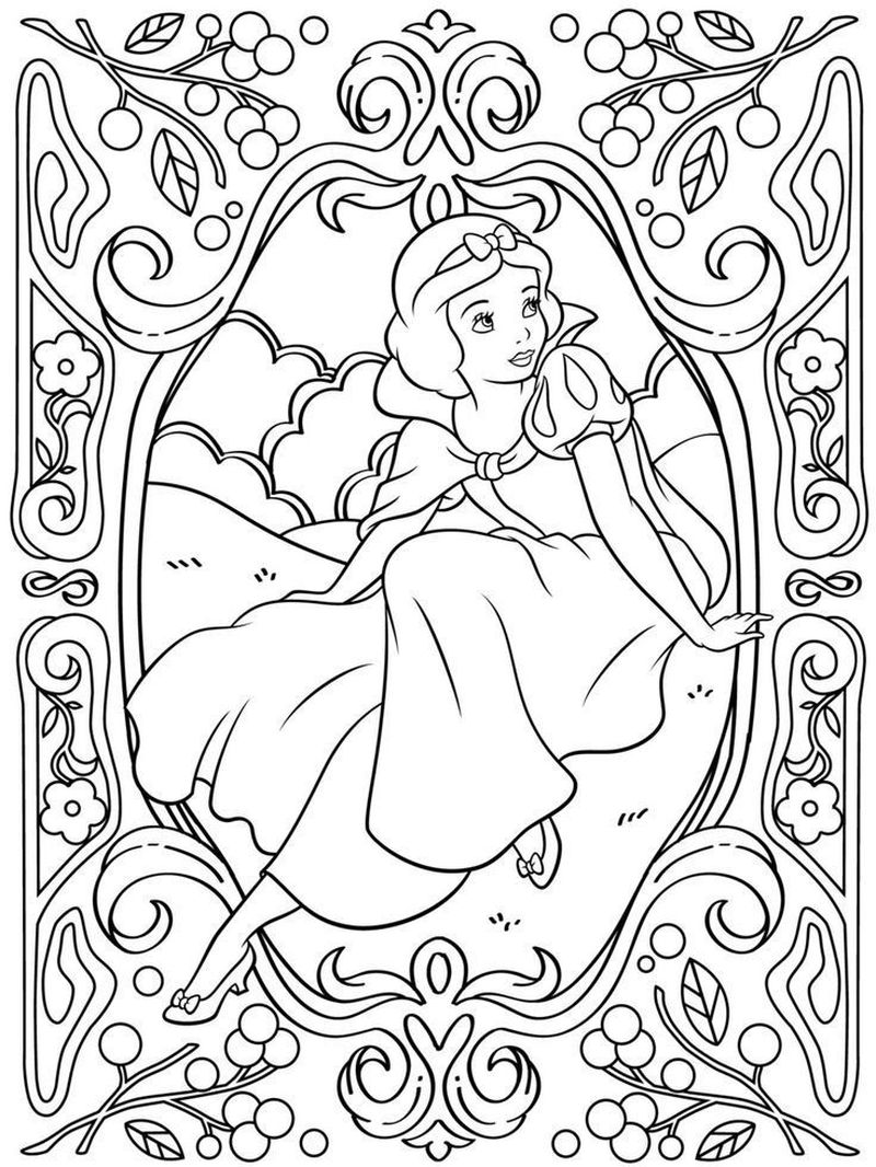 Snow White Coloring Pages Online