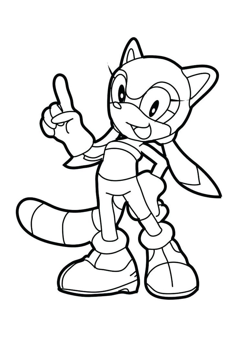 Sonic Coloring Pages Oncoloring.Com