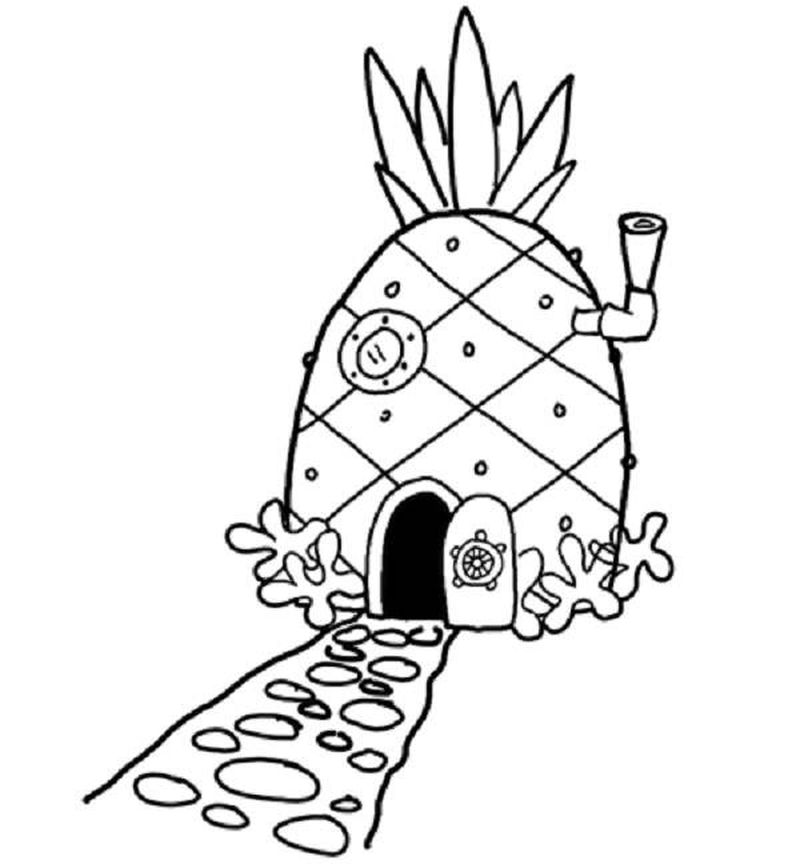 Spongebob Coloring Pages Gary