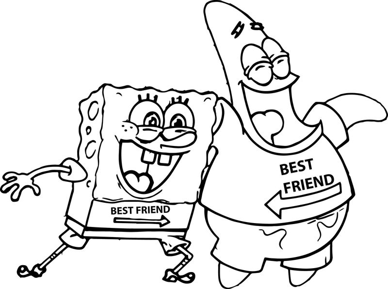 Spongebob Coloring Pages Happy Birthday
