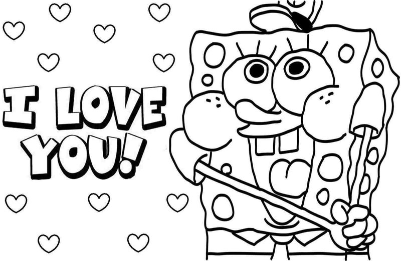 Spongebob Coloring Pages Printables
