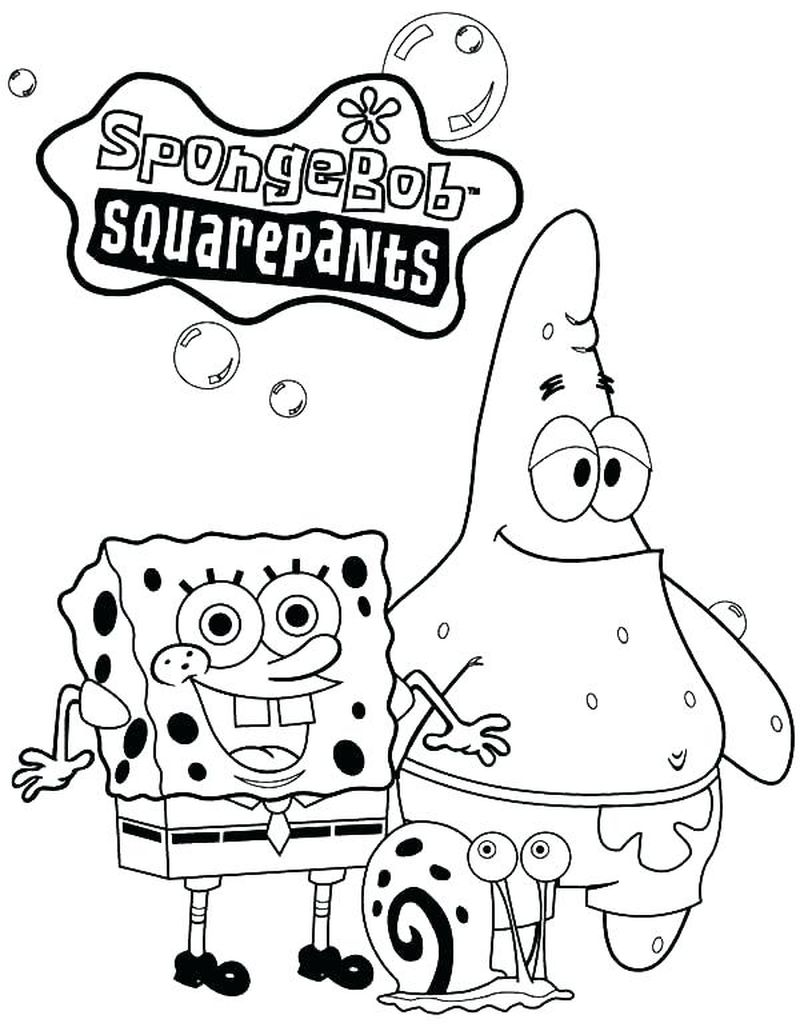 Spongebob Coloring Pages Sandy