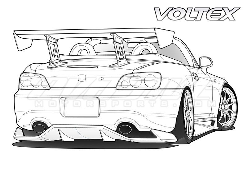 Sports Car Coloring Pages To Print