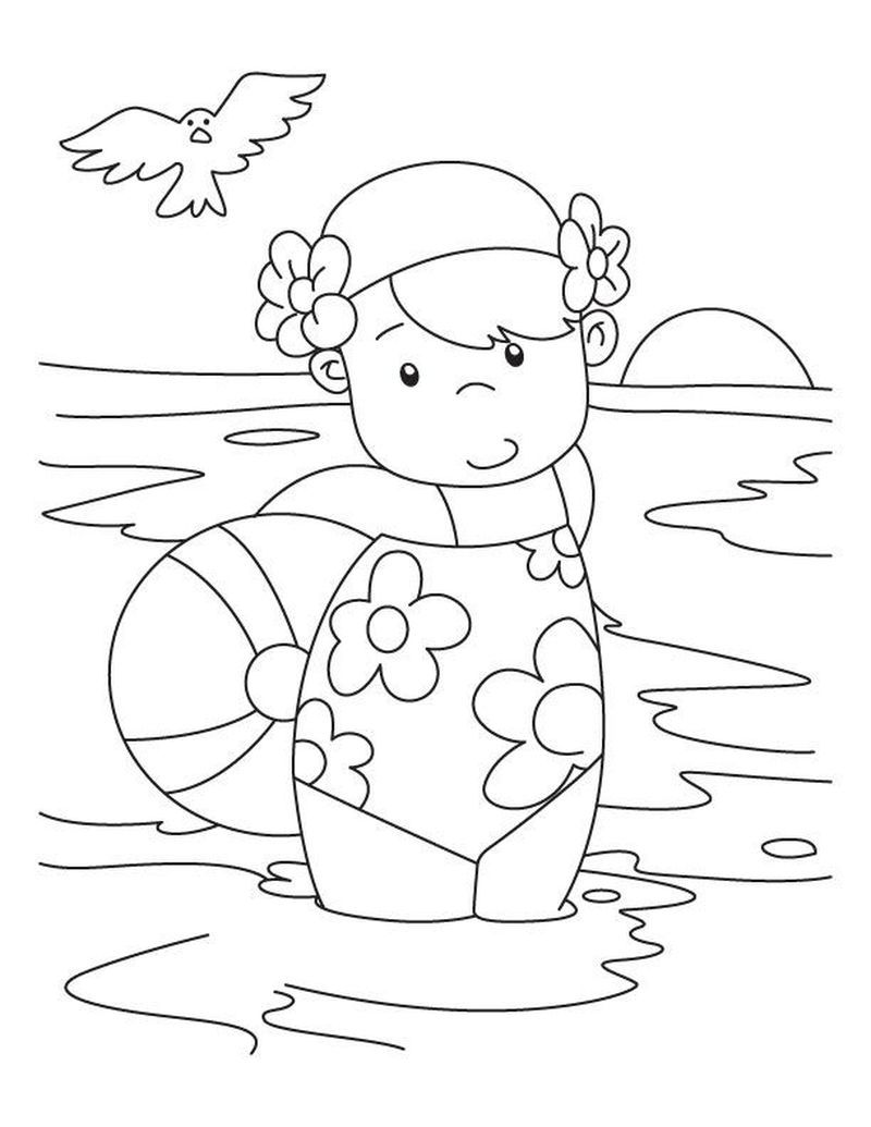 Summer Coloring Contest Pages