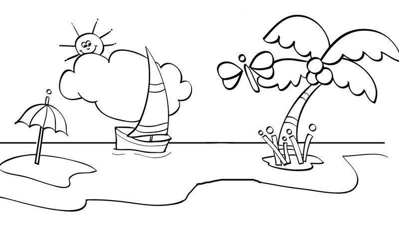 Summer Coloring Pages Ice Cream