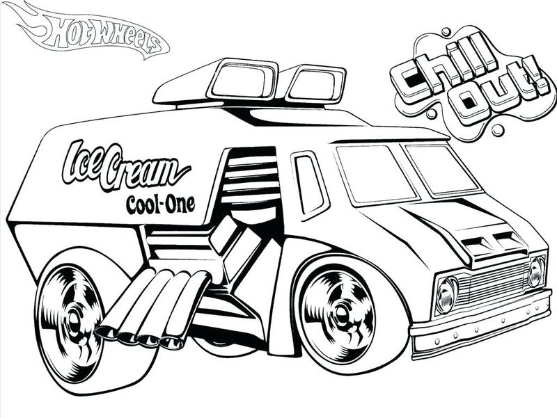 Super Hot Wheels Coloring Pages