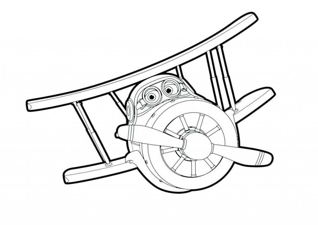 Super Wings Coloring Pages To Print