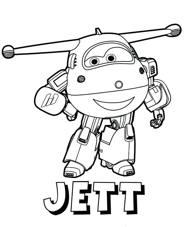 Super Wings Coloring Pages Todd