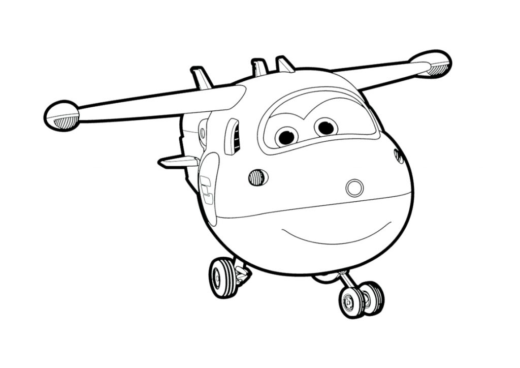 Super Wings Coloring Sheets