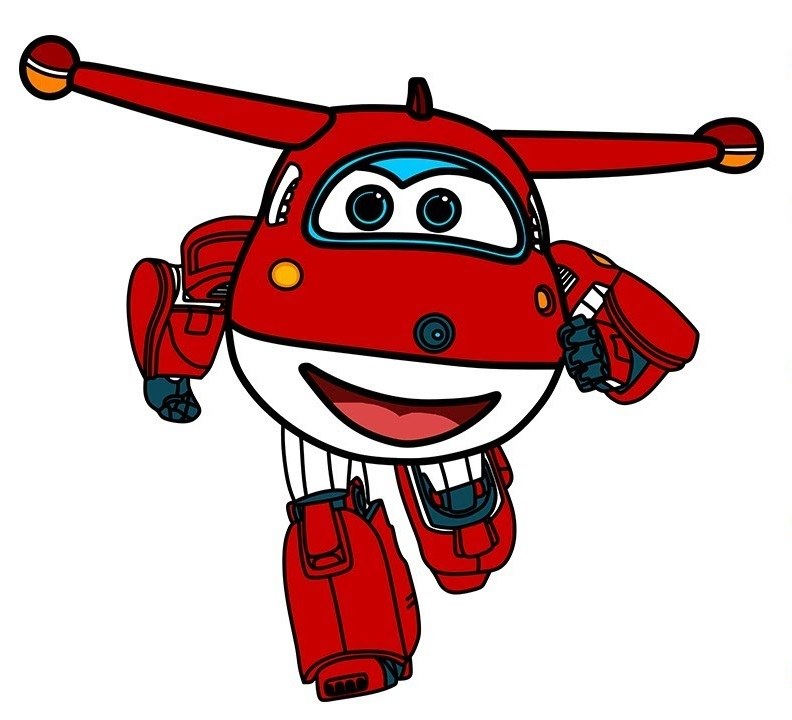 Super Wings Colouring Pages
