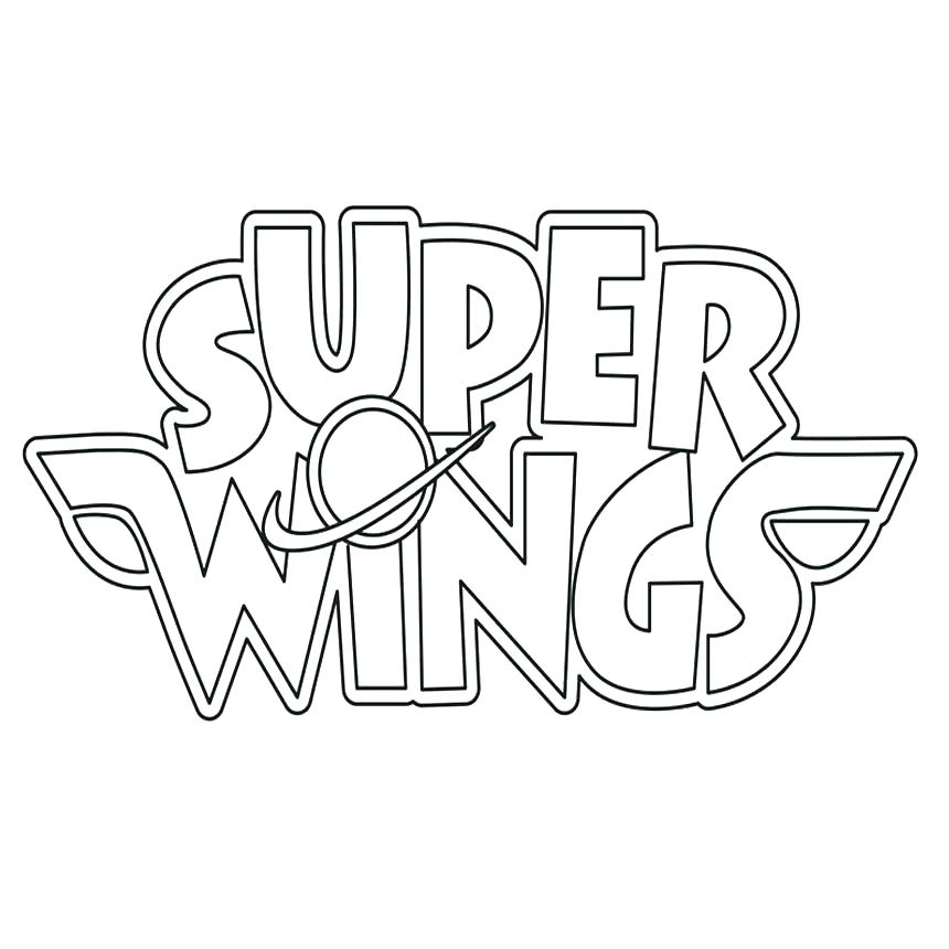 Super Wings Jett Coloring Pages