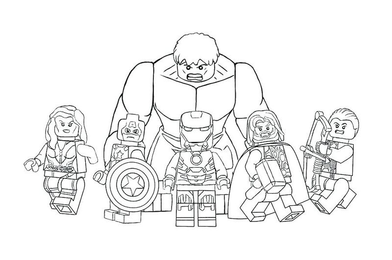 The Avengers Movie Coloring Pages
