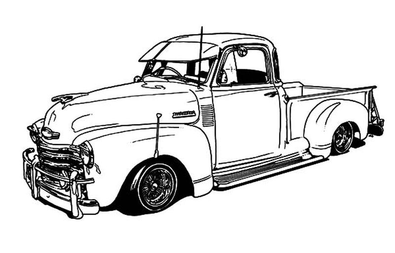 The Car Coloring Pages