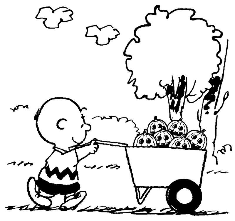 The Peanuts Movie Coloring Pages