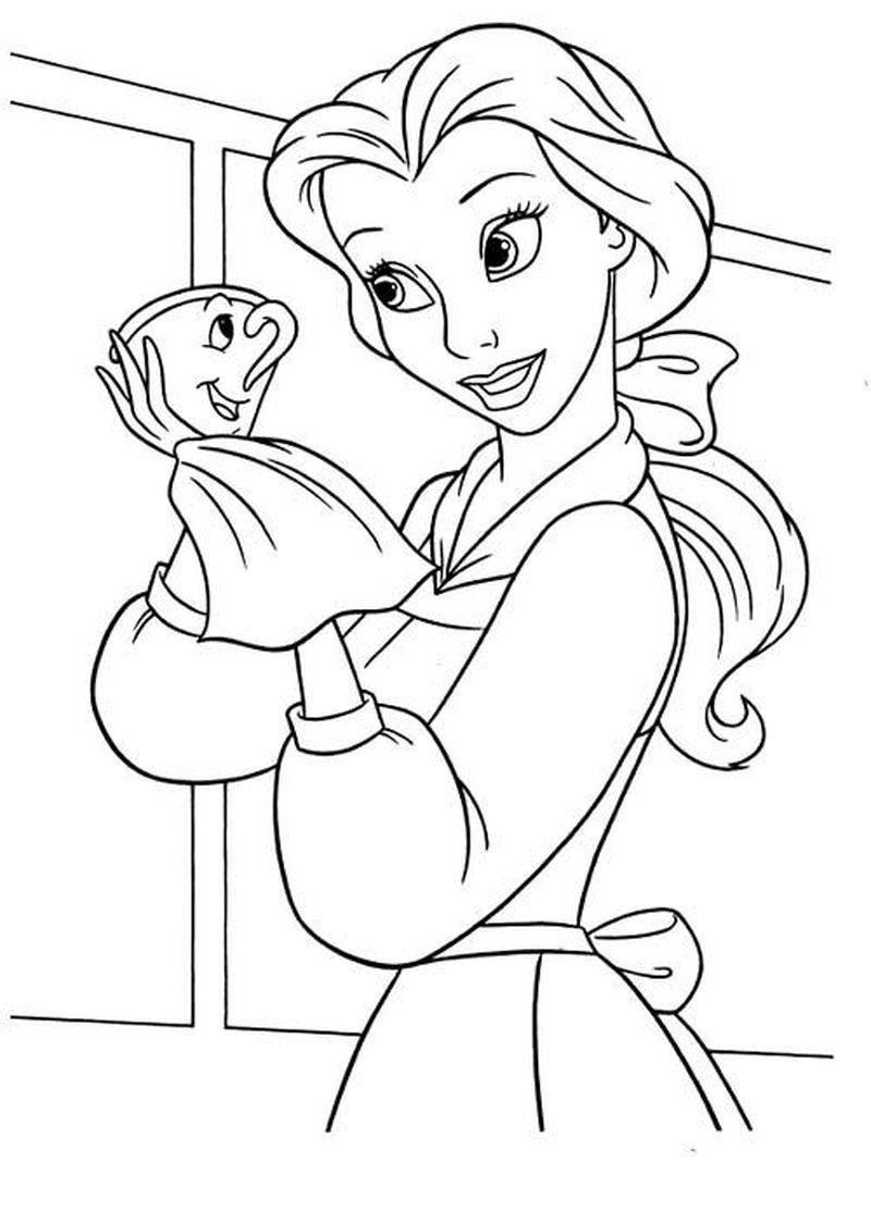 Thomas And Friends Belle Coloring Pages