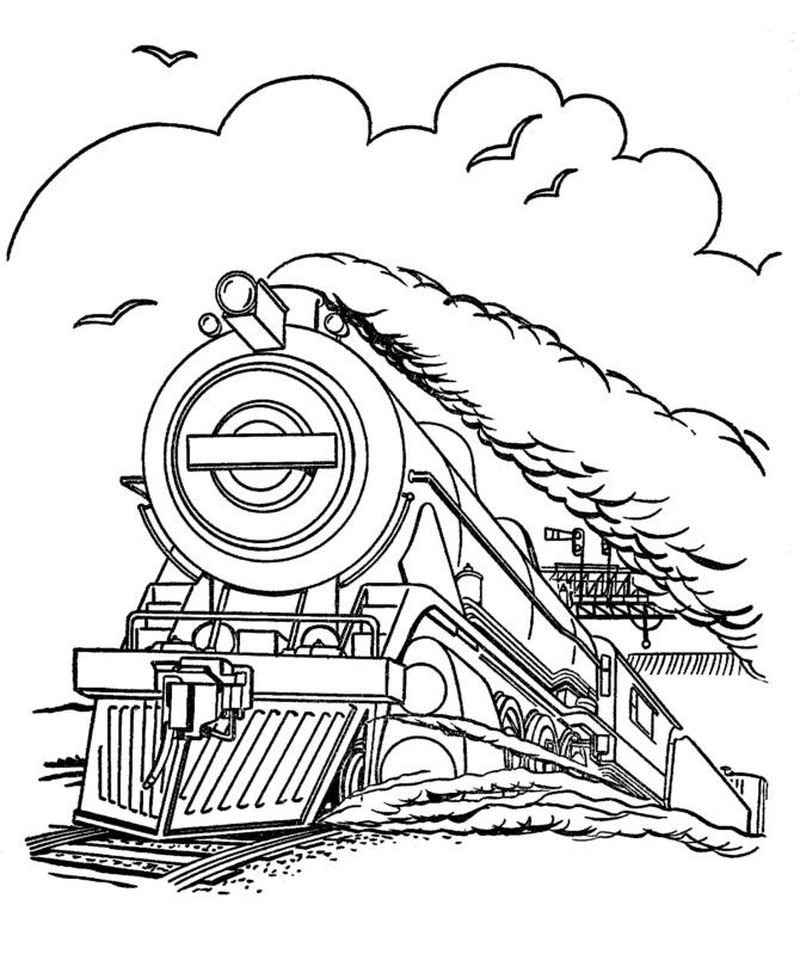 Thomas Train Coloring Pages Free Printable