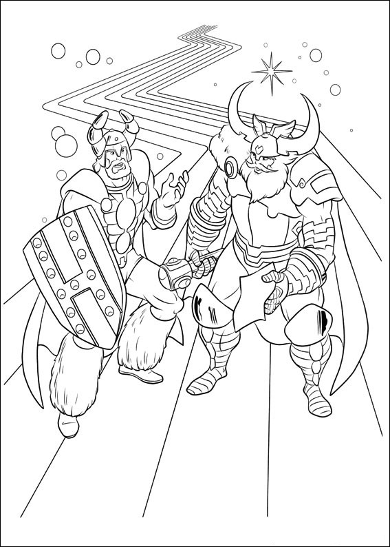 Thor Coloring Pages To Print