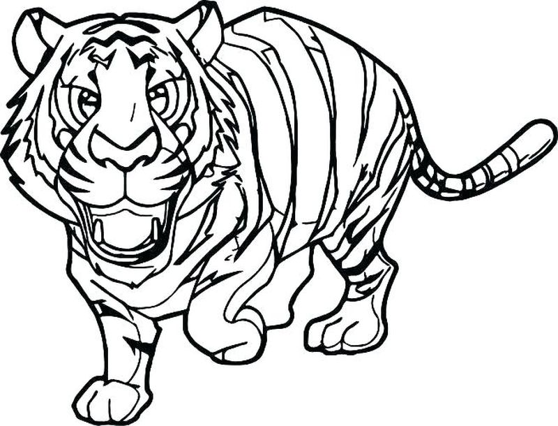 Tiger Claw Tmnt Coloring Pages