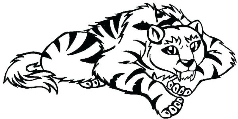 Tigers Baseball Coloring Pages