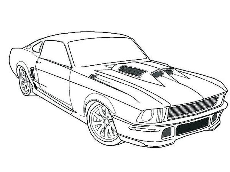 Toy Car Coloring Pages