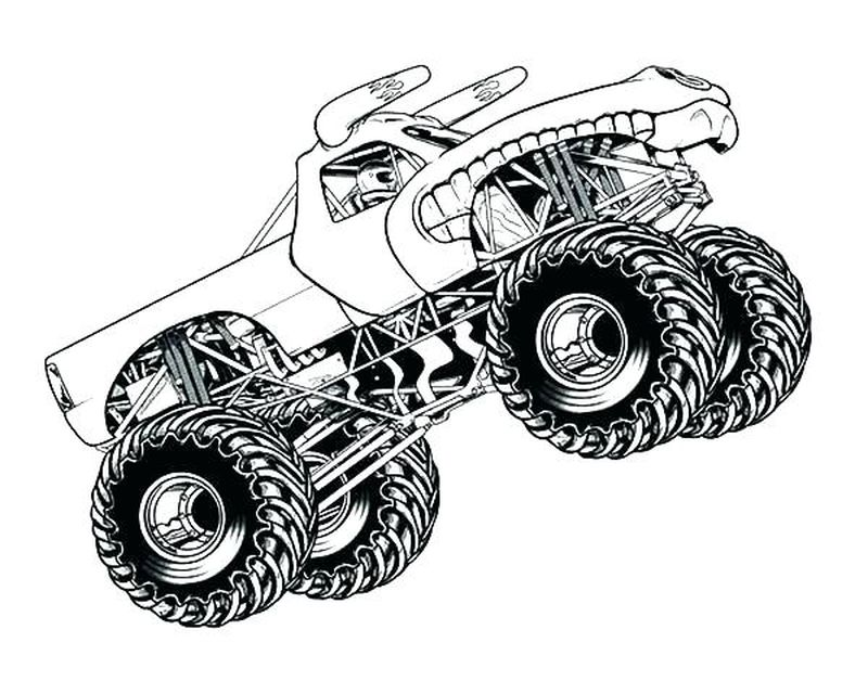 Truck Coloring Pages Online