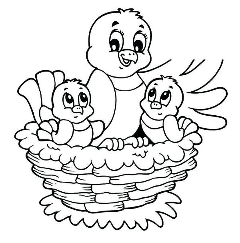 Tweety Bird Valentines Day Coloring Pages