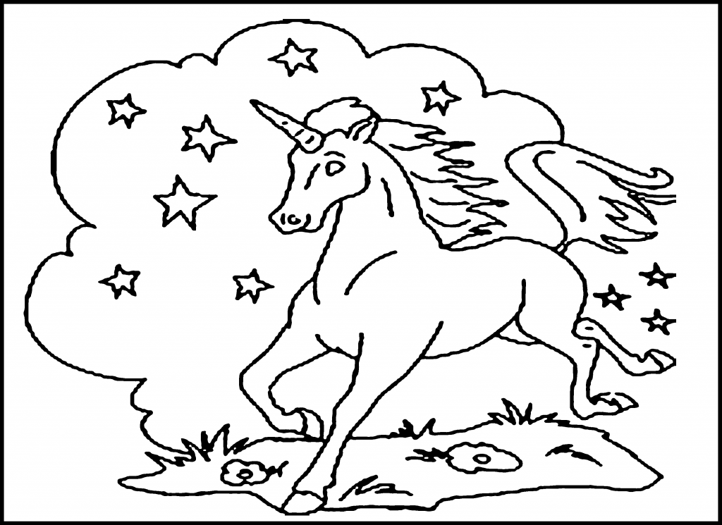 Unicorn Coloring Pages Free Printable