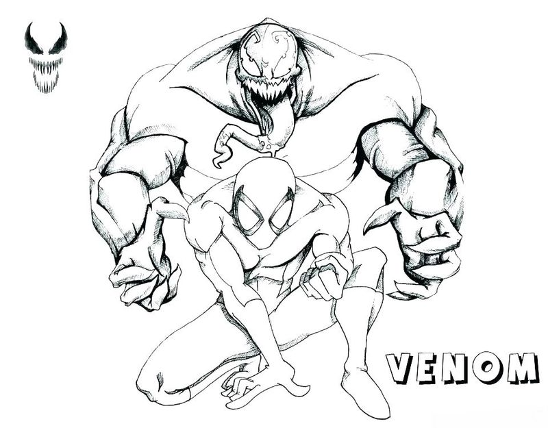 Venompool Coloring Pages