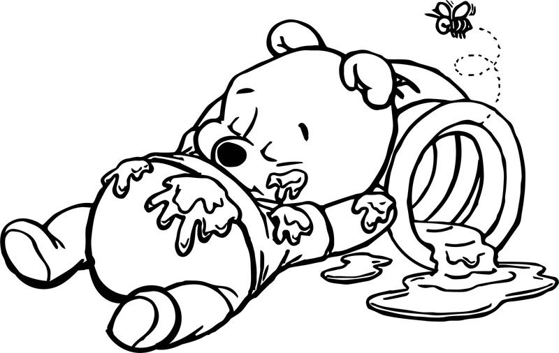 Winnie The Pooh Coloring Book Pages