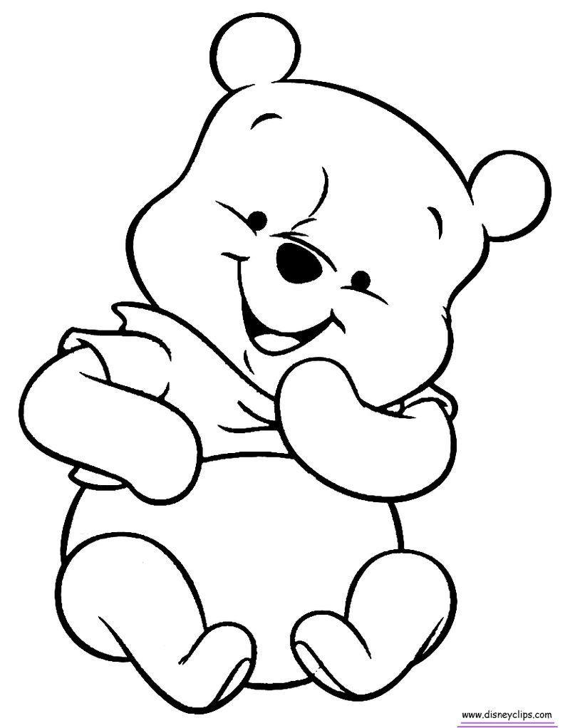 Winnie The Pooh Coloring Pages Disney