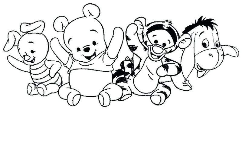 Winnie The Pooh Coloring Pages Fall