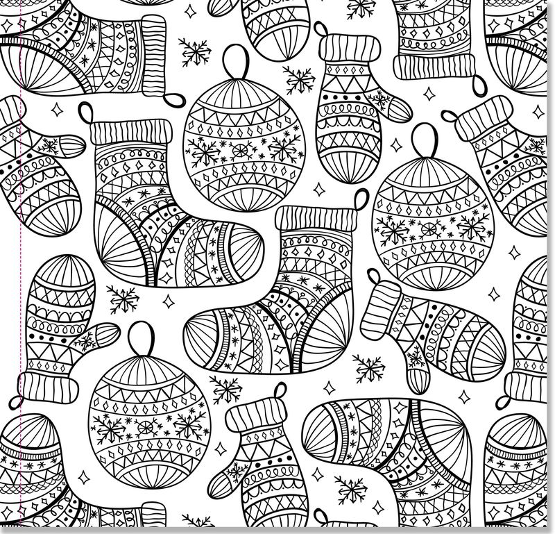 Winter Coloring Pages Easy