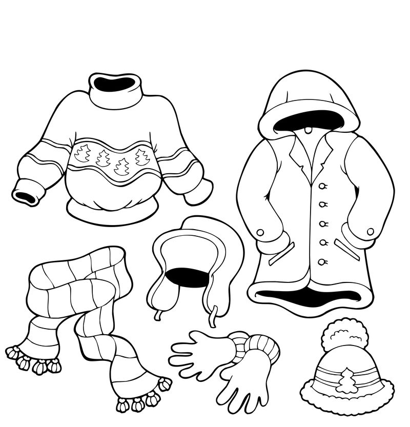 Winter Coloring Pages For 2nd Grade
