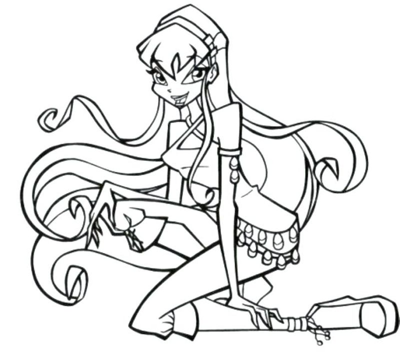 Winx Club Kiko Coloring Pages
